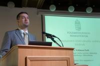 Dr. Feldman Zsolt - agrárgazdaságért felelős helyettes államtitkár (FM)